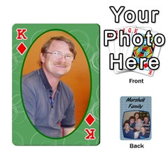 King Cards Completed By Dianne Marshall   Playing Cards 54 Designs   Dmrgk9jfs2vr   Www Artscow Com Front - DiamondK