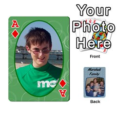 Ace Cards Completed By Dianne Marshall   Playing Cards 54 Designs   Dmrgk9jfs2vr   Www Artscow Com Front - DiamondA