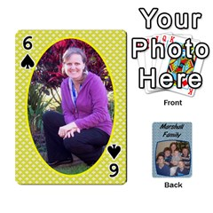 Cards Completed By Dianne Marshall   Playing Cards 54 Designs   Dmrgk9jfs2vr   Www Artscow Com Front - Spade6
