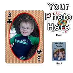 Cards Completed By Dianne Marshall   Playing Cards 54 Designs   Dmrgk9jfs2vr   Www Artscow Com Front - Club3