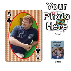 Cards Completed By Dianne Marshall   Playing Cards 54 Designs   Dmrgk9jfs2vr   Www Artscow Com Front - Club5