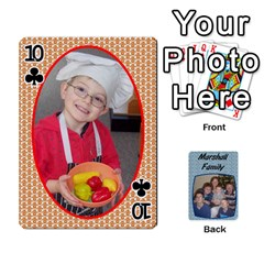 Cards Completed By Dianne Marshall   Playing Cards 54 Designs   Dmrgk9jfs2vr   Www Artscow Com Front - Club10