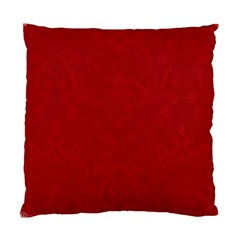 Red Santa Cushion Case (2 Sided) By Jen   Standard Cushion Case (two Sides)   X4xy0w0xkpqk   Www Artscow Com Back