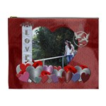 Love of my Life XL Cosmetic Bag - Cosmetic Bag (XL)