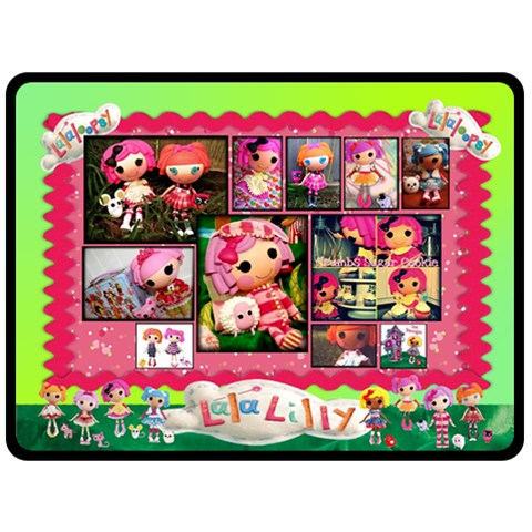 Lilly s Blanket By Jessica Brown   Fleece Blanket (large)   8b1wmn44vbf6   Www Artscow Com 80 x60 Blanket Front