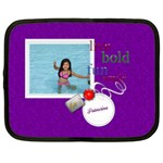Purple Photo Custom Netbook Case (XXL) - 15  Netbooks