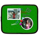 Green Custom Netbook Case (XL) - 13  Netbooks