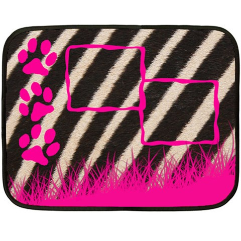 Zebra   Blanket By Carmensita   Fleece Blanket (mini)   30beugh7e4xg   Www Artscow Com 35 x27 Blanket