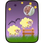 Counting sheep - BLANKET - Double Sided Fleece Blanket (Mini)