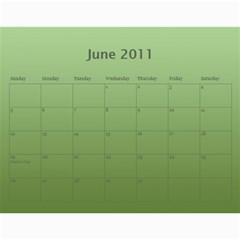 Calendar By Helen Carr   Wall Calendar 11  X 8 5  (12 Months)   1h8rm50kg54y   Www Artscow Com Jun 2011