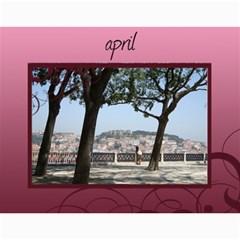 Calendar By Helen Carr   Wall Calendar 11  X 8 5  (12 Months)   1h8rm50kg54y   Www Artscow Com Month