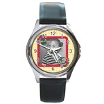 Whirlygig watch 3 - Round Metal Watch