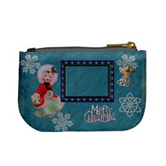 Stocking Stuffer Remember When Lantern Girl Merry Christmas Blue Mini Coin Purse By Ellan   Mini Coin Purse   3exk5ayjpy4t   Www Artscow Com Back