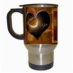 I heart You Travel Mug 24 gold - Travel Mug (White)