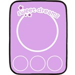sweet dreams blanket 01 - Mini Fleece Blanket
