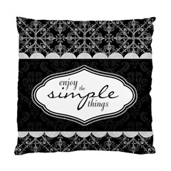 Enjoy The Simple Things 2 Sided Cushion Case By Klh   Standard Cushion Case (two Sides)   A1riv9qd4kux   Www Artscow Com Front