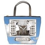 Dream Blue Sky Bucket Bag