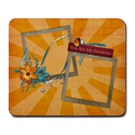 You are my sunshine mousepad - Large Mousepad