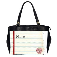Teacher Bag By Spaces For Faces   Oversize Office Handbag (2 Sides)   Y5zwhbbf7tm7   Www Artscow Com Front