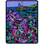 Oceans Mystery - Fleece Blanket (Large)