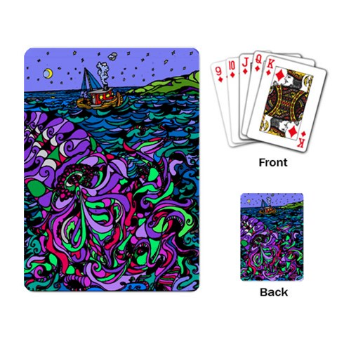 By Alienjunkyard   Playing Cards Single Design   Dwd4lwll1x61   Www Artscow Com Back
