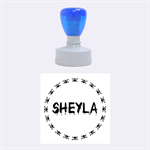Sheyla - Rubber Stamp Round (Medium)