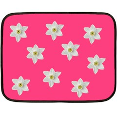 Pink Blanket By Carmensita   Double Sided Fleece Blanket (mini)   D9kx6n81otud   Www Artscow Com 35 x27 Blanket Back
