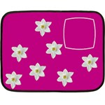 Flowers blanket - Mini Fleece Blanket(Two Sides)