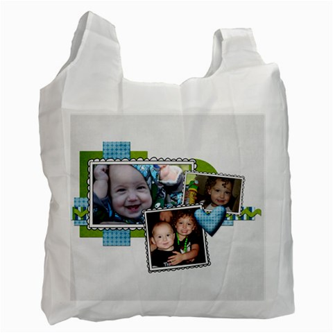 Reuseable Bag By Tami Blue   Recycle Bag (one Side)   Yodshbx844uq   Www Artscow Com Front