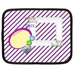 Purple Stripes Custom Netbook Case (XL) 13  Netbooks