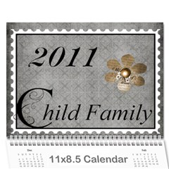 2011 Calendar By Cherie Child   Wall Calendar 11  X 8 5  (12 Months)   Vo49nbmlps02   Www Artscow Com Cover