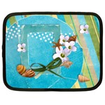 Beach laptop case-L - Netbook Case (Large)