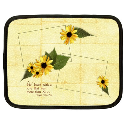 Love Quote Laptop Case L By Mikki   Netbook Case (large)   F4j2yvy0nudb   Www Artscow Com Front