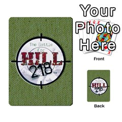 Hill 218   Quique By Enrique Ramos   Playing Cards 54 Designs   Xai3balcnzsx   Www Artscow Com Back