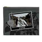 Charcoal Love XL Cosmetic Bag - Cosmetic Bag (XL)