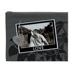 Charcoal Love XL Cosmetic Bag - Cosmetic Bag (XL)