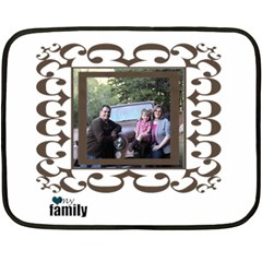Small Family Blanket By Amanda Bunn   Double Sided Fleece Blanket (mini)   I530u7aqnbfh   Www Artscow Com 35 x27 Blanket Front