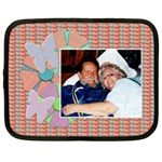 flower butterfly netbook case - Netbook Case (Large)