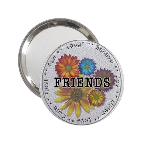 Friends Handbag Mirror By Lil    2 25  Handbag Mirror   Uze0q86i7axm   Www Artscow Com Front