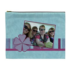 Summer Breeze 2 Xl Cosmetic Bag By Klh   Cosmetic Bag (xl)   Ikxd6ouubcdf   Www Artscow Com Front