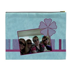 Summer Breeze 2 Xl Cosmetic Bag By Klh   Cosmetic Bag (xl)   Ikxd6ouubcdf   Www Artscow Com Back