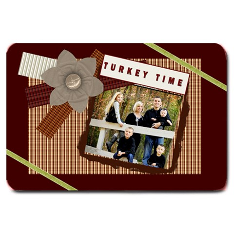 Turkey Time Door Mat By Danielle Christiansen   Large Doormat   Tme5371sdgcp   Www Artscow Com 30 x20 Door Mat - 1