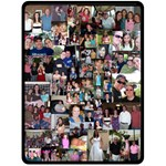 mom - Fleece Blanket (Large)