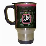 daddy s girl mug2 - Travel Mug (White)