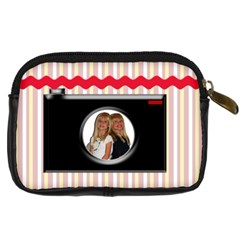 Camera Case By Danielle Christiansen   Digital Camera Leather Case   Ggdct12how57   Www Artscow Com Back