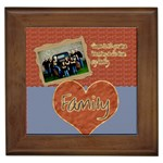 family framed tile