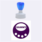 Sammy circle - Rubber Stamp Round (Medium)