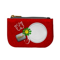 Red Custom Mini Coin Purse Template By Happylemon   Mini Coin Purse   H9hfplfn58vw   Www Artscow Com Front