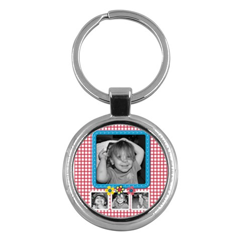 Round Key Chain 3 By Martha Meier   Key Chain (round)   2xzldieew8e9   Www Artscow Com Front