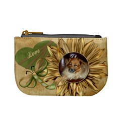 Sunflower Mini Purse   Love By Lmw   Mini Coin Purse   D45dr6hcskwh   Www Artscow Com Front